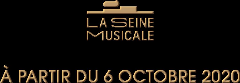 La Seine Musicale à partir du 6 octobre 2020